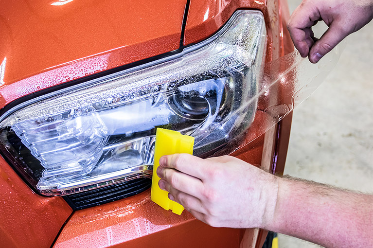 Headlight Protection Film