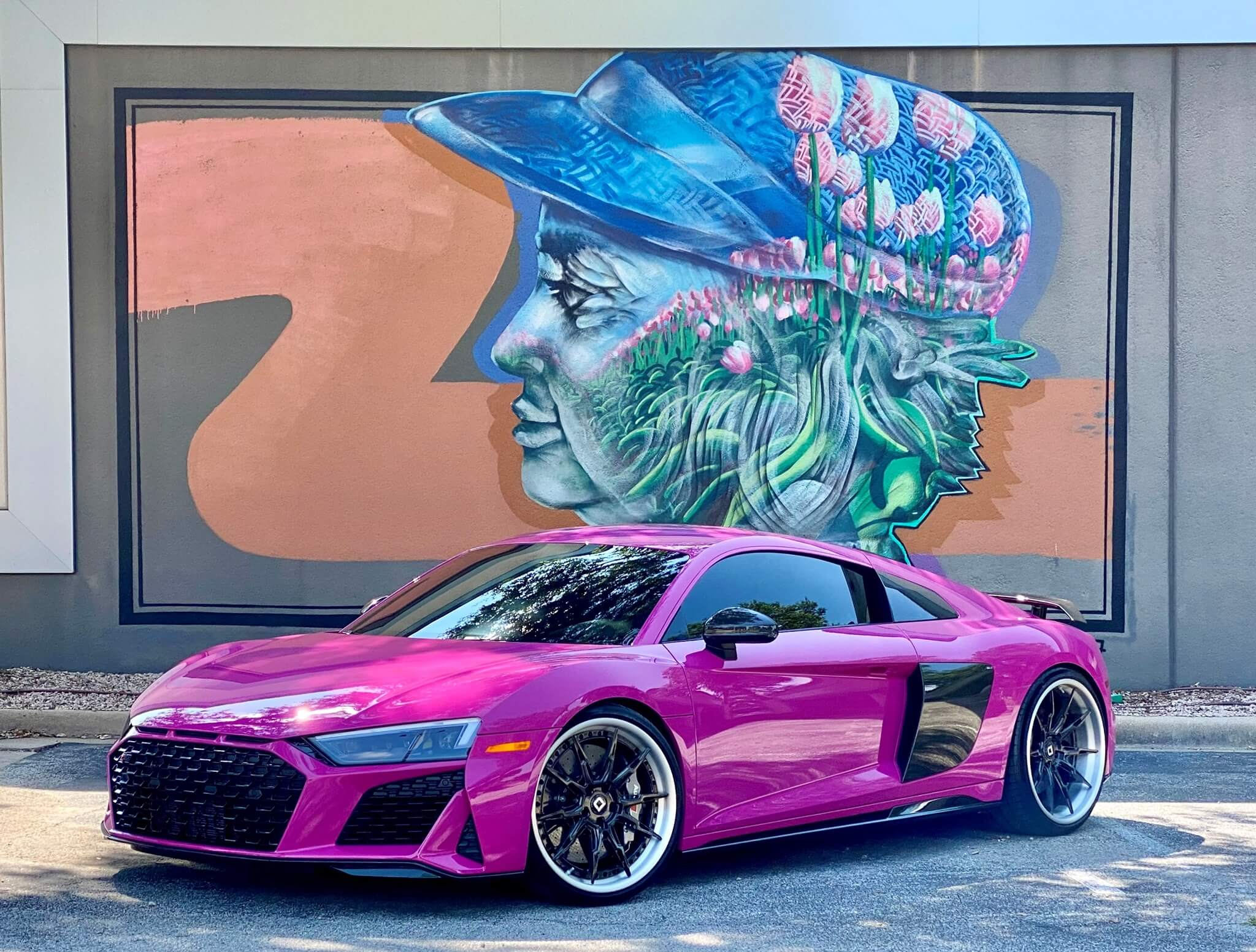 Traffic Purple 2020 Audi R8 Preserves Limited-Edition Paint with XPEL ULTIMATE PLUS PPF and FUSION PLUS Ceramic Coating