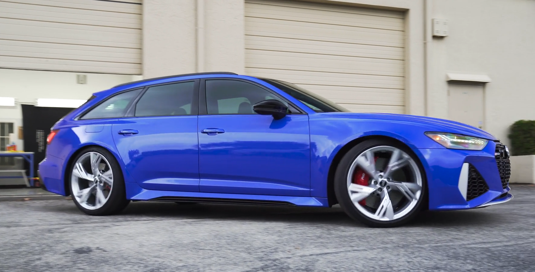 2021 Audi RS6 Avant Gets Complete Paint Protection Package ...
