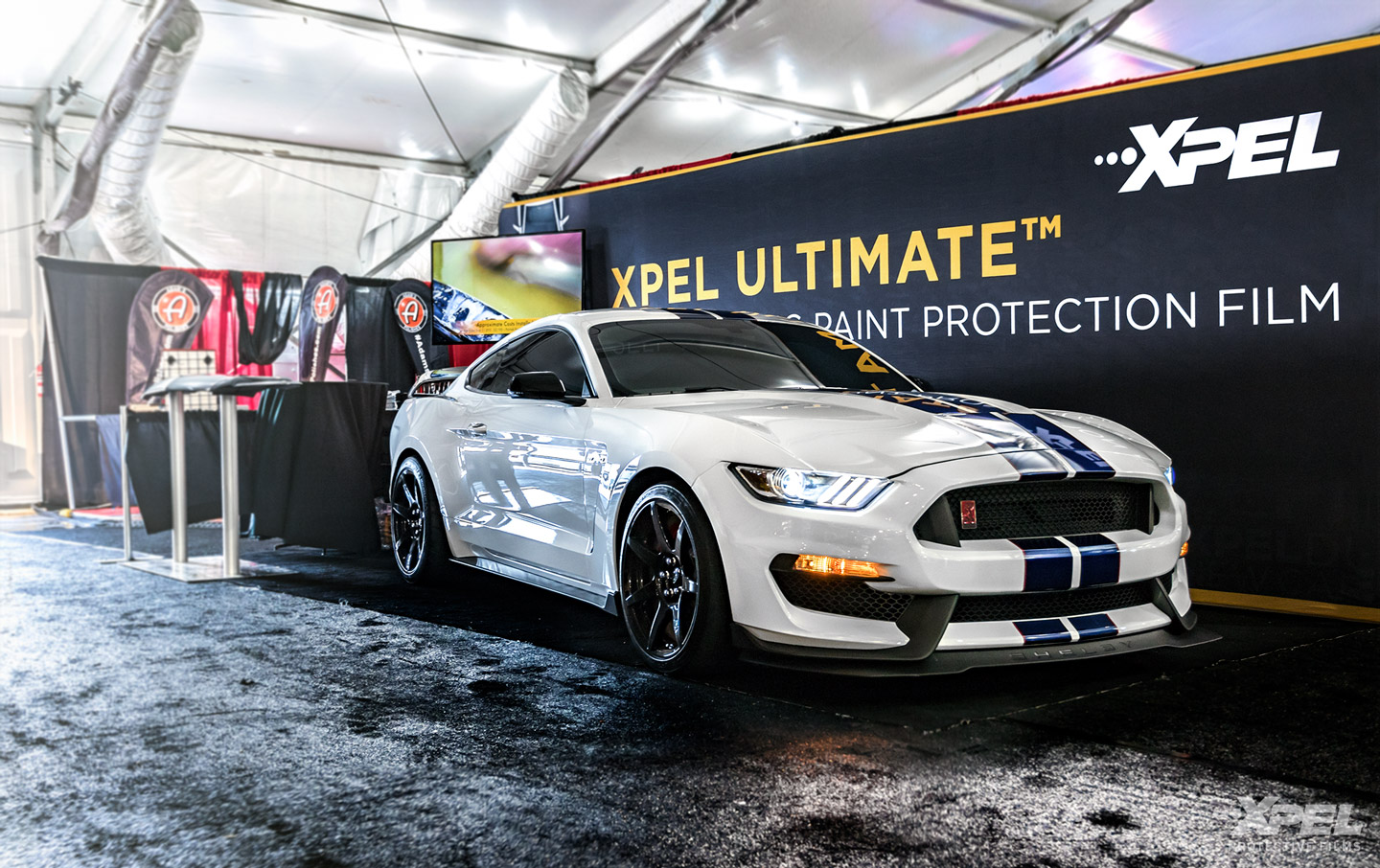 Barrett-Jackson-North-East-Mustang-GT350-R-XPEL-clear-bra-booth