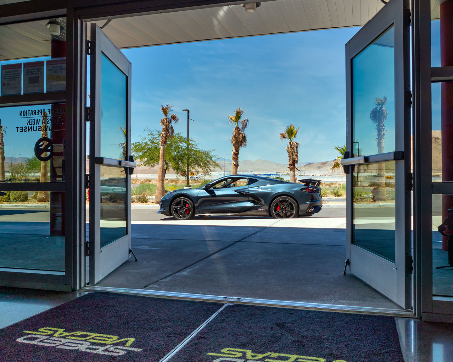 XPEL Helps Protect Supercars in Las Vegas - Speed Vegas - Chevy C8 Corvette