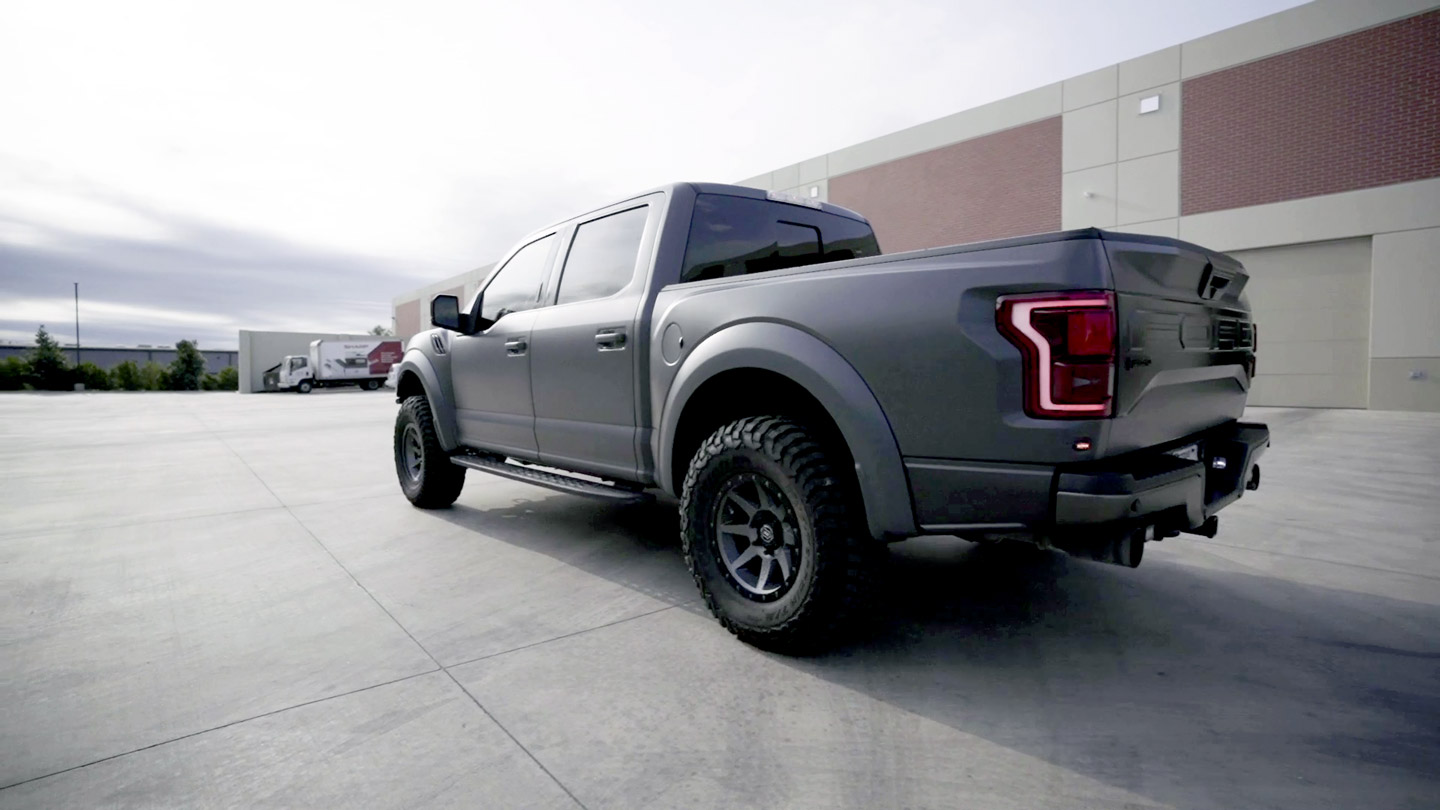 Ford F-150 Raptor Treated with STEALTH PPF & FUSION PLUS Ceramic Coating Ensures Paint Protection On and Off-Road