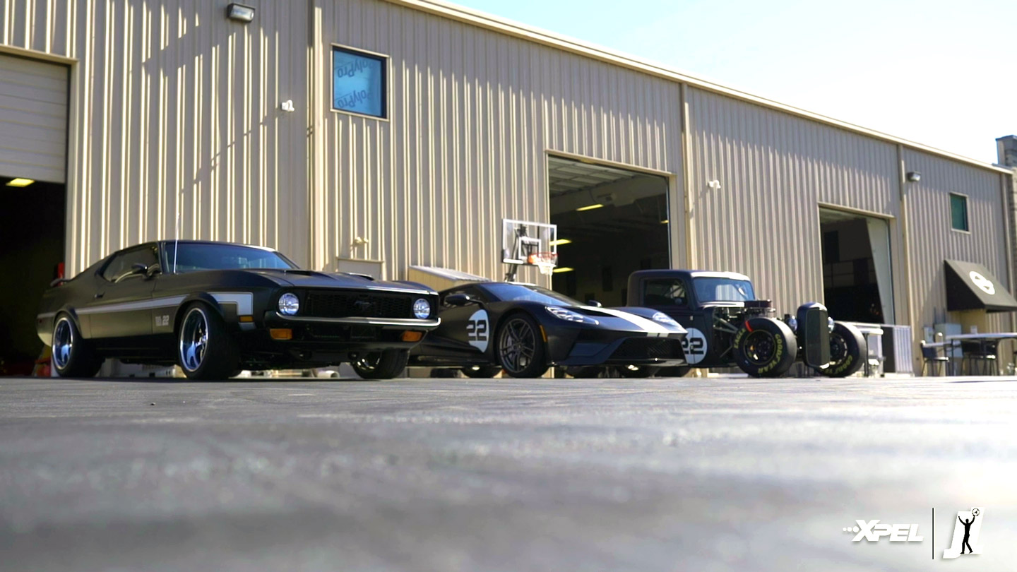 Joey Logano - Mustang Mach 1 protected with XPEL STEALTH PPF