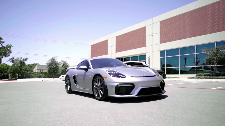 Porsche GT4 - PPF, Ceramic Coating, Window Tint