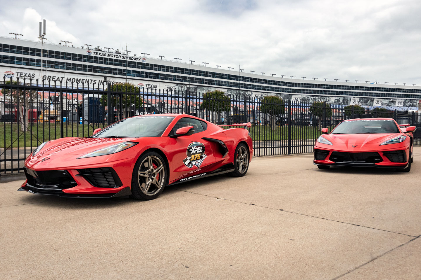 C8 - Pace Cars - XPEL 375