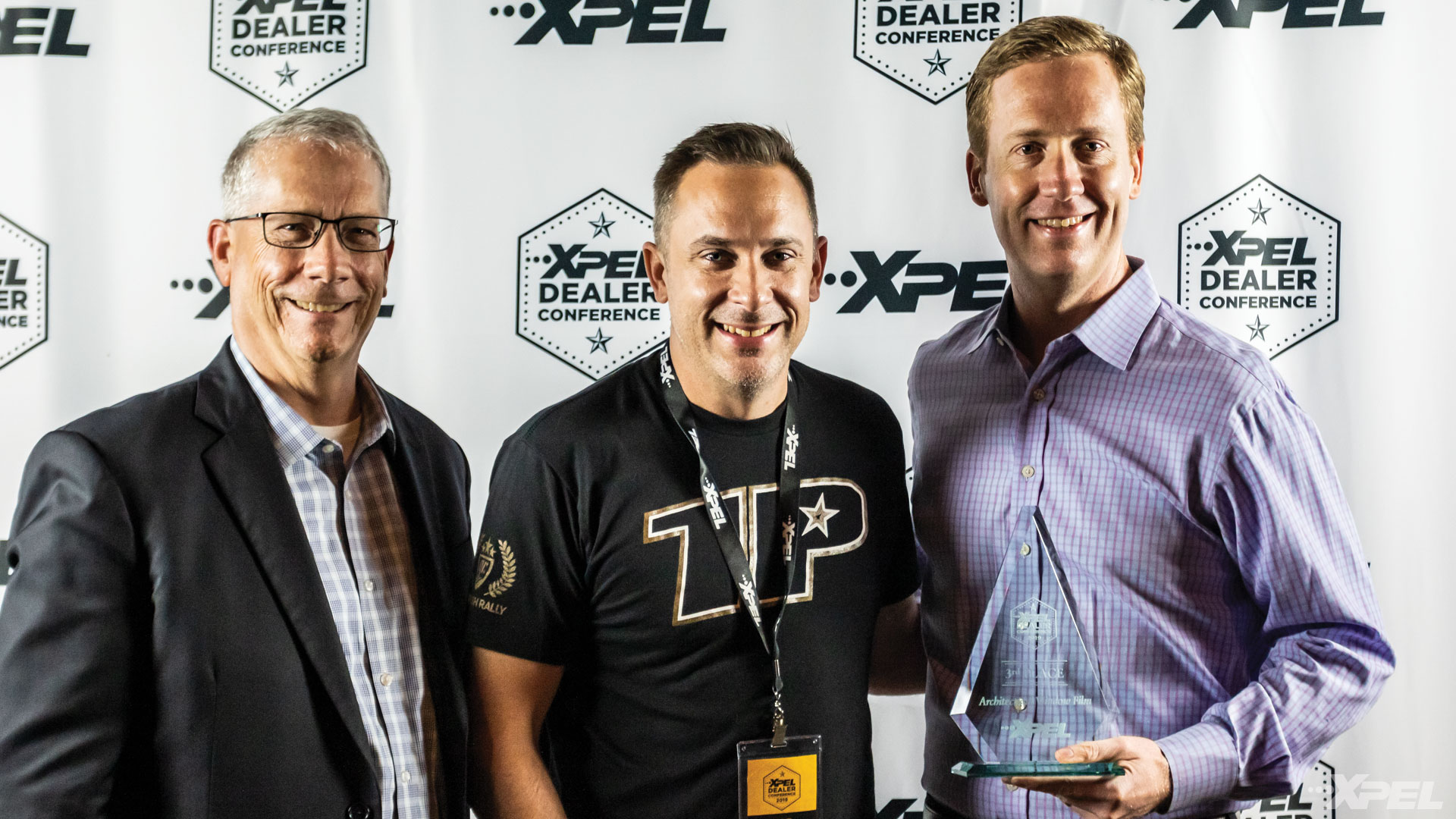 XPEL Dealer Conference 3rd Place Window Film / Window Tint Winner: Rob Ruska