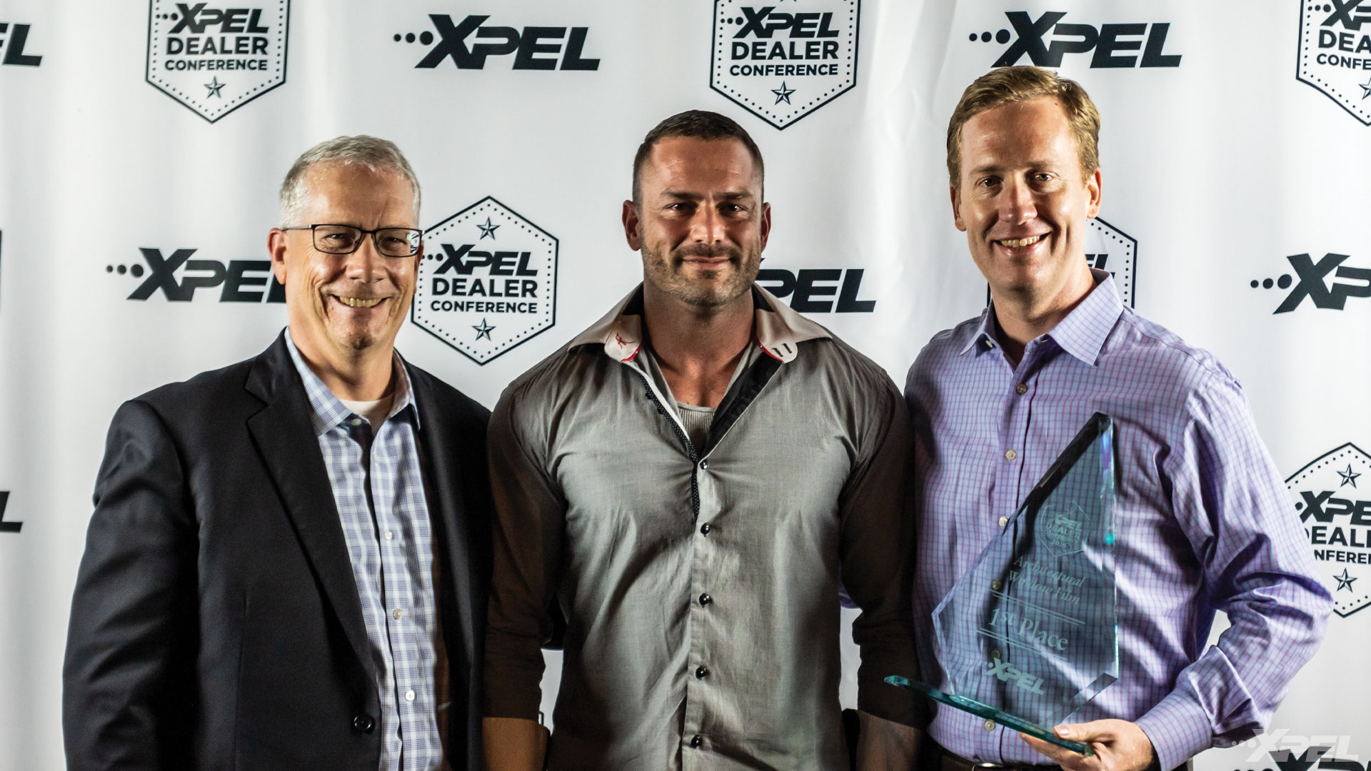 XPEL Dealer Conference 1st Place Window Film / Window Tint Winner: Shane Geddes - Solar Secure