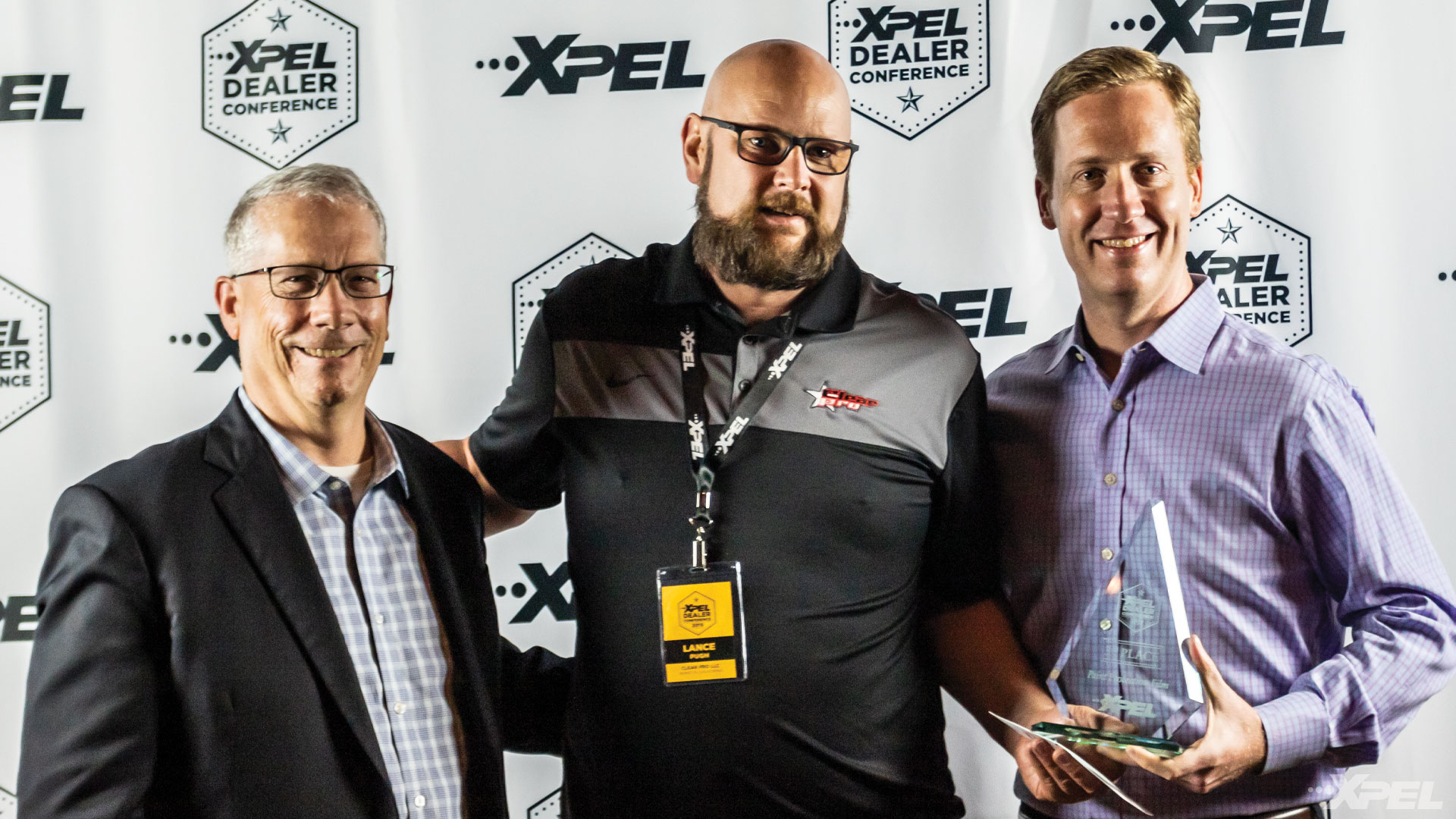 XPEL Dealer Conference 3rd Place Paint Protection Film Winner: Lance Pugh of Clear Pro