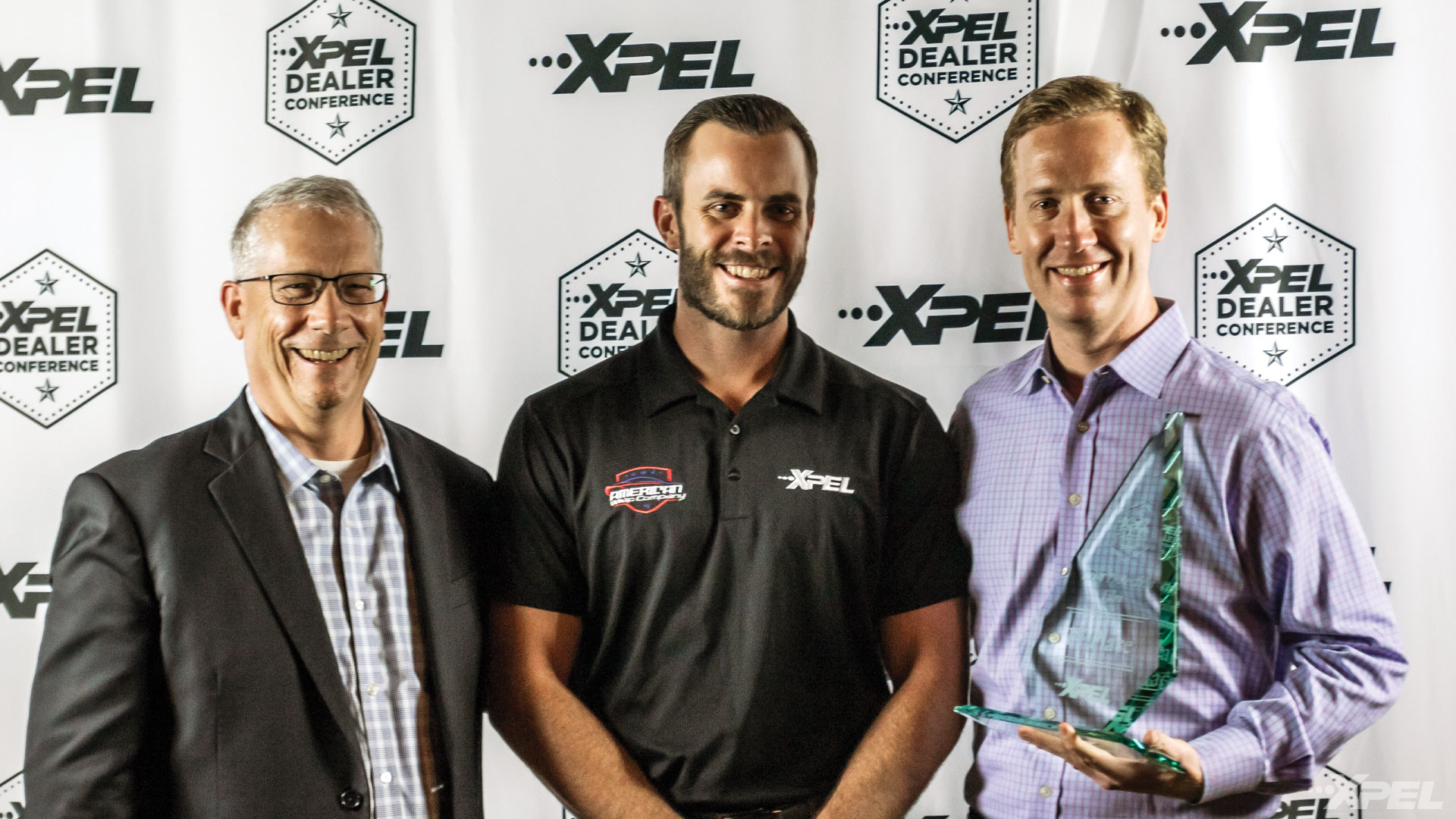 XPEL Dealer Conference 1st Place Paint Protection Film Winner: Tyler O'Hara of America Wrap Co.