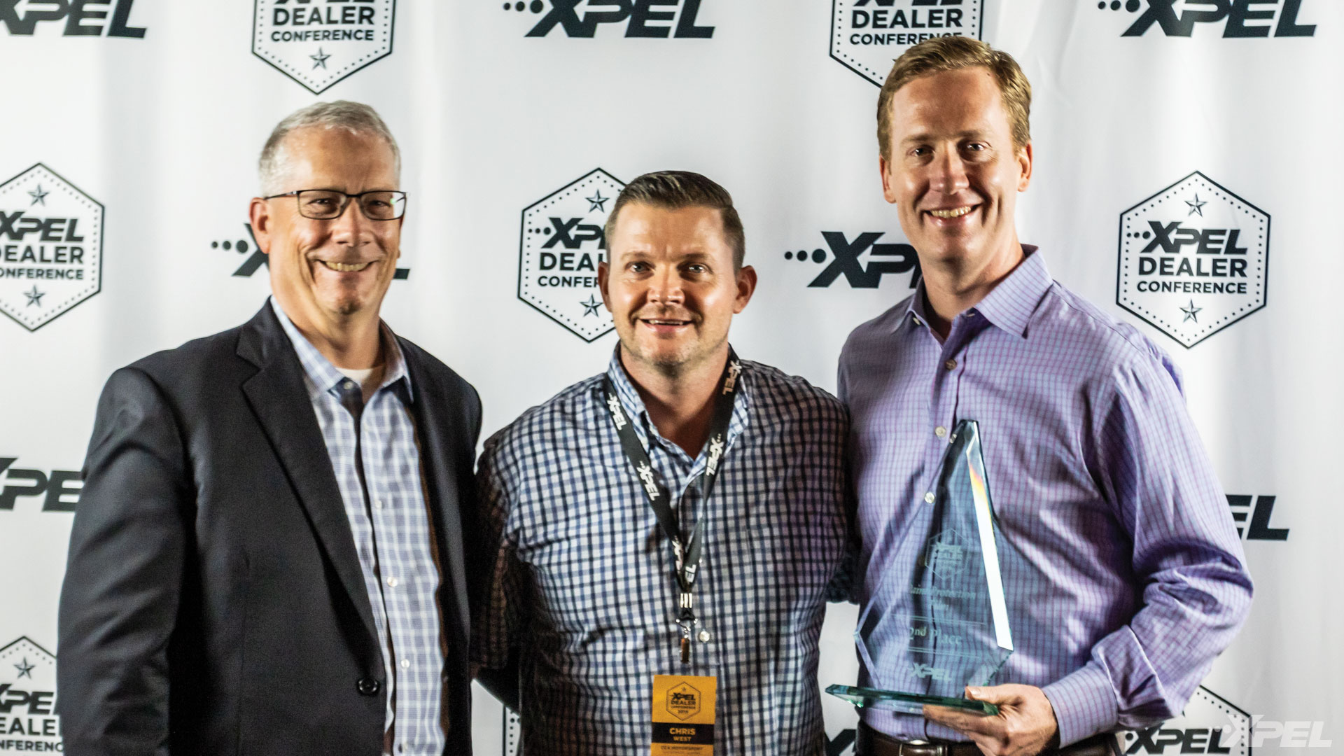 XPEL Dealer Conference 2nd Place Paint Protection Film Winner: Chris West of CCA Motorsport
