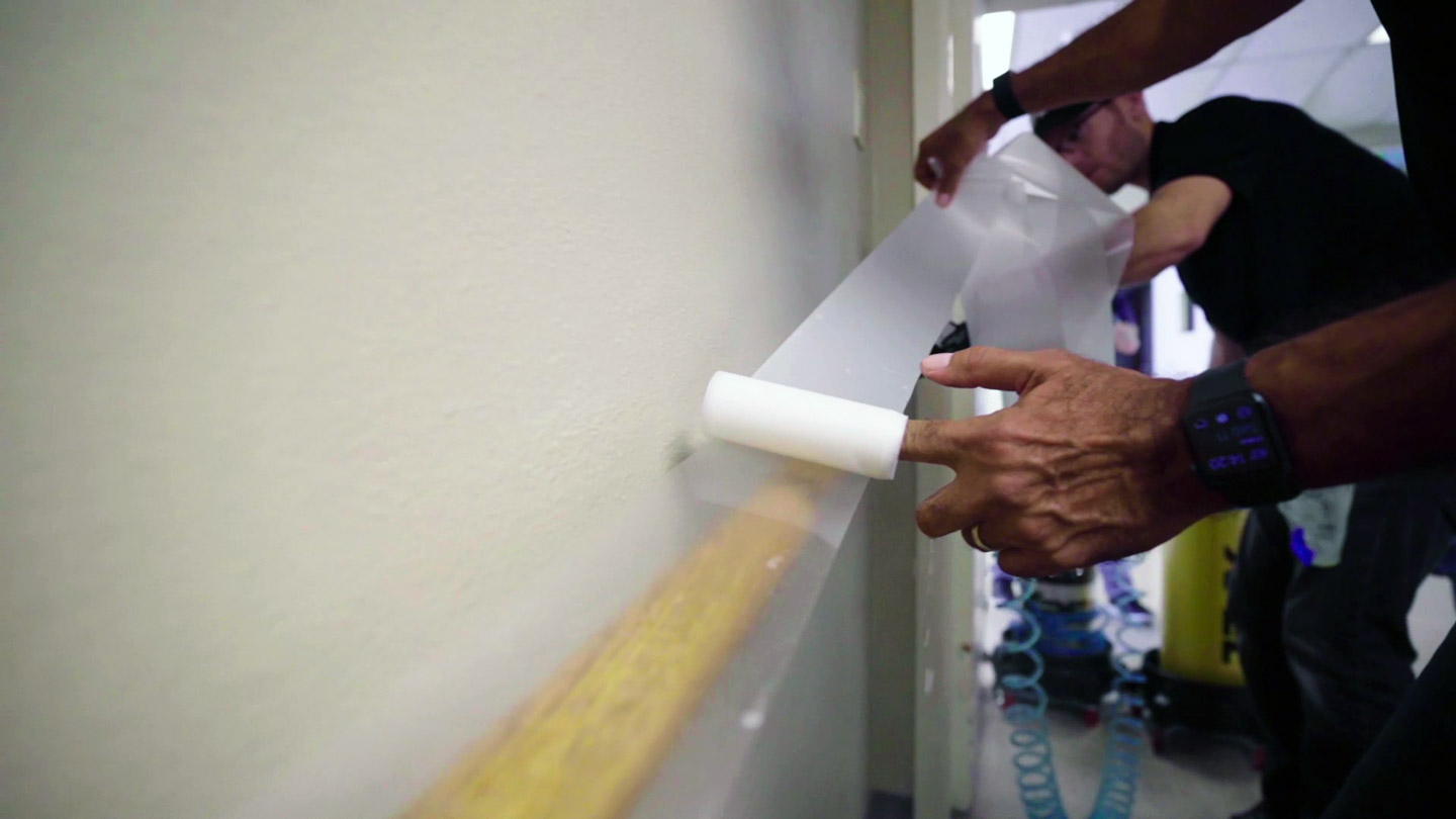 XPEL RX Antimicrobial Film Installed at School