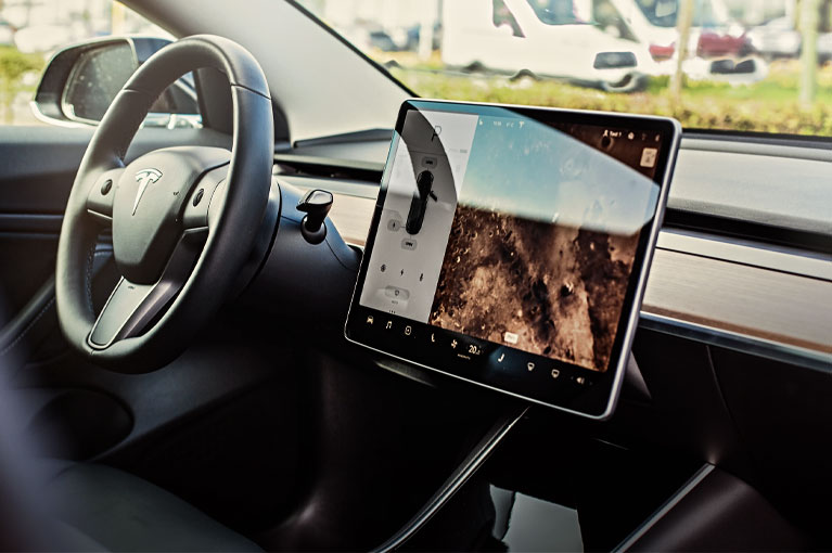 Automotive Antimicrobial Touch Screen Protection