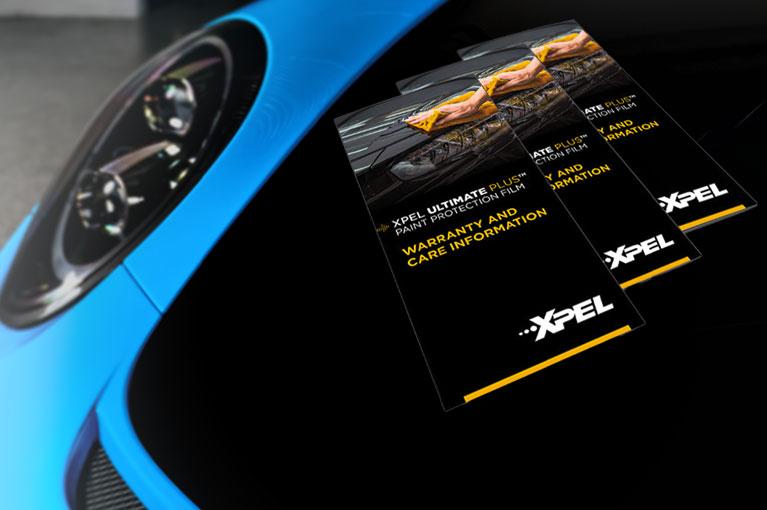 Deep Gloss Black PPF-10 Year XPEL Warranty