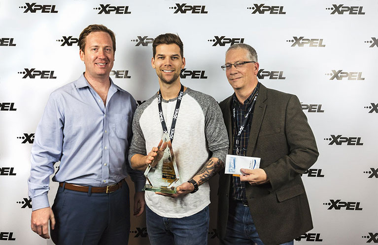 XPEL Dealer Conference 3rd Place Paint Protection Film Winner: Andrew Pilon of Goldwing Autocare