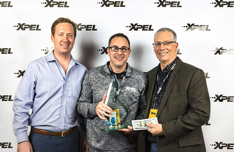 XPEL Dealer Conference 1st Place Window Film / Window Tint Winner: Rob Ruska of Sun Stoppers