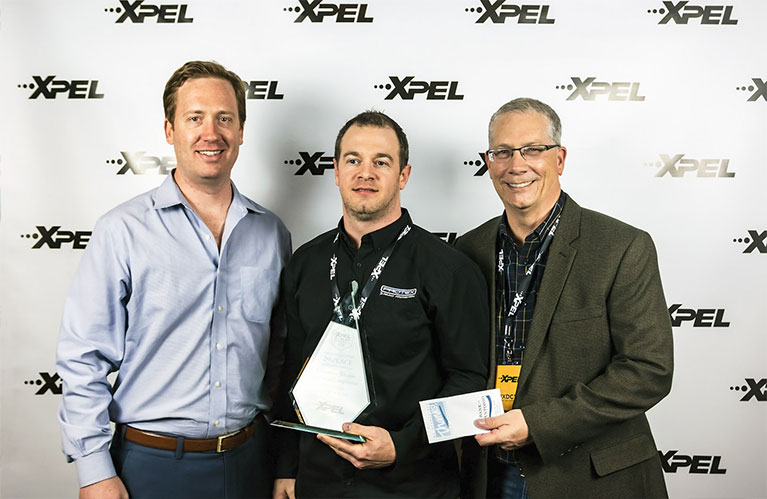 XPEL Dealer Conference 2nd Place Window Film / Window Tint Winner: Sylvain Parenteau of Protex Canada