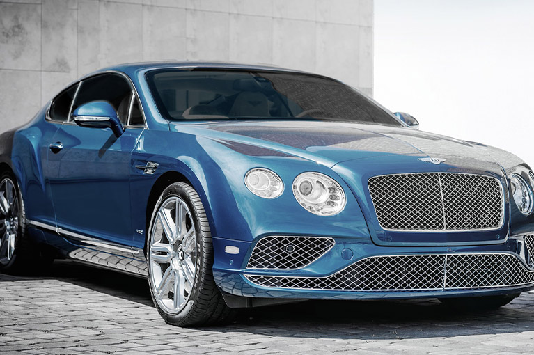 XPEL PRIME X SERIES automotive window tint Bentley